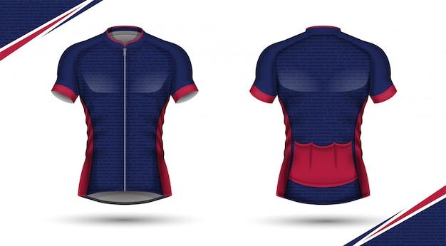 Modèle de maillot de football design de t-shirt sport