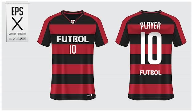Modèle de maillot de football ou kit de football