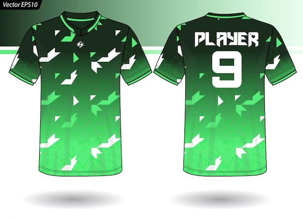 Modèle de maillot de sport pour les uniformes d'équipe