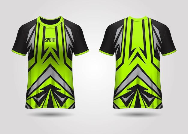 Modèle de maillot de sport t-shirt