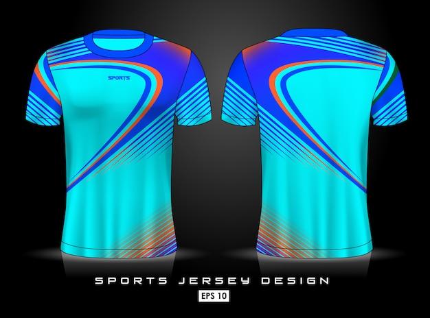 Modèle de maillot de sport