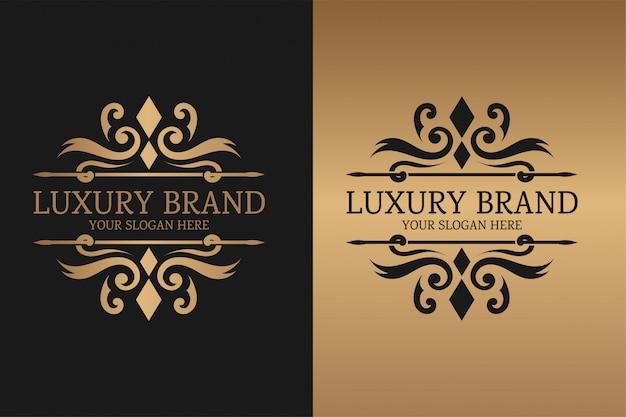 Modèle de marque de luxe
