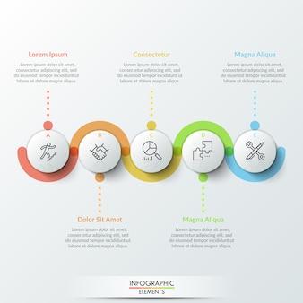 Modèle métier infographique