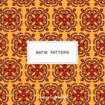 Modèle de modèle de batik