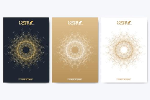 Modèle moderne pour brochure