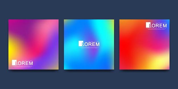 Modèle moderne pour illustration de flyer brochure brochure carré