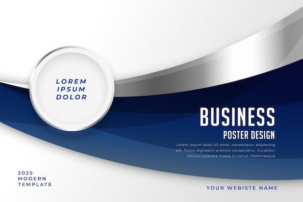Modèle moderne de présentation de style abstrait affaires