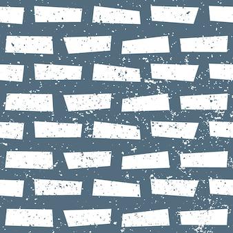 Modèle de mur de brique sans couture texturé
