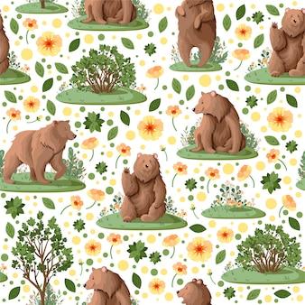 Modèle avec des ours.
