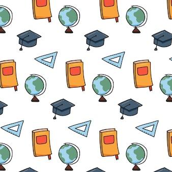Modèle d'outils d'école d'éducation