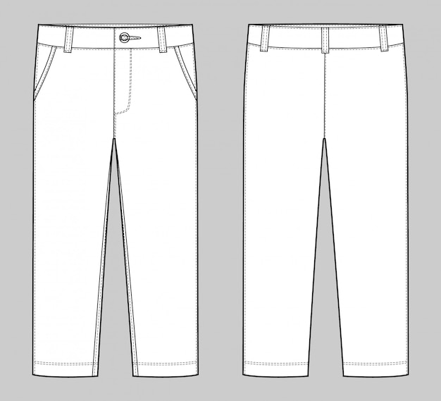 Modèle de pantalon
