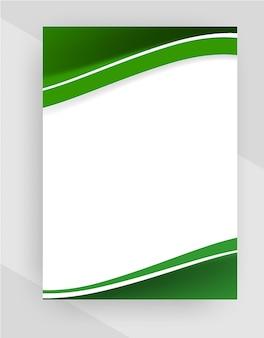 Modèle de papier à en-tête créatif professionnel sur fond transparent