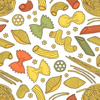 Modèle avec des pâtes