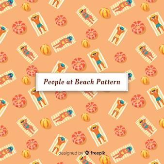 Modèle de plage