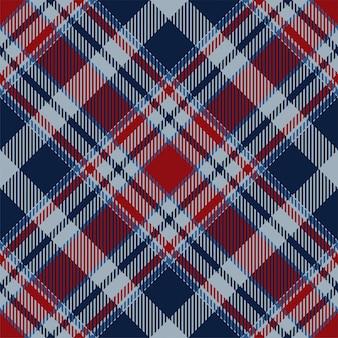 Modèle de plaid sans couture écossais écossais