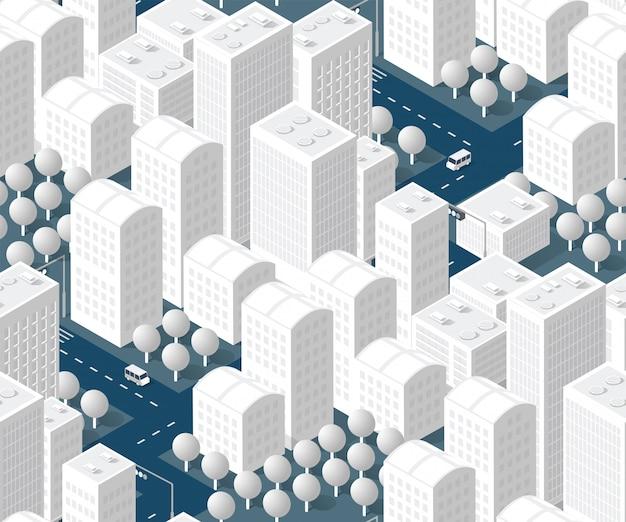 Modèle de plan urbain sans soudure