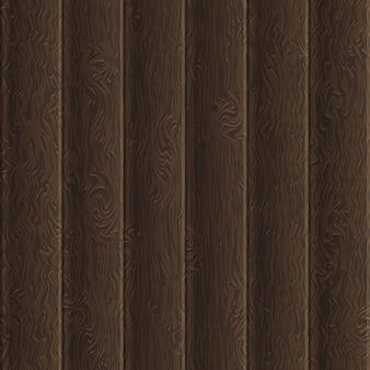 Modèle de planches de bois brun naturel.