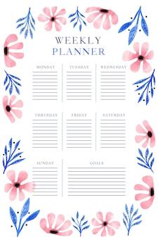 Modèle de planificateur de journal de balle