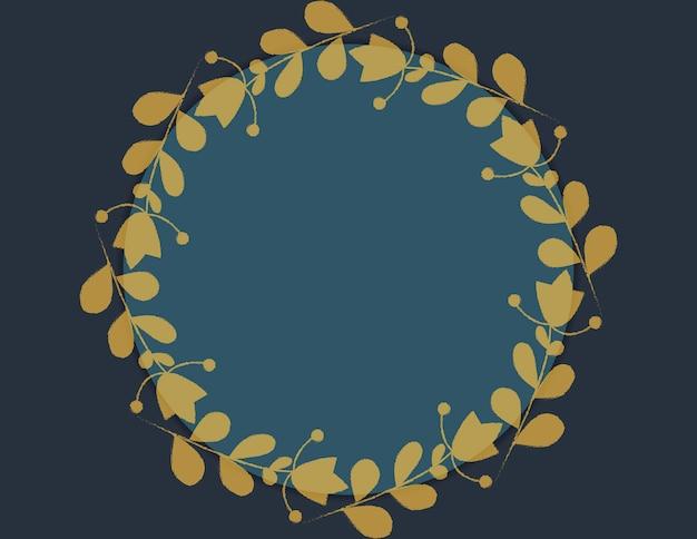 Modèle pour carte, invitation, mariage avec cadre floral