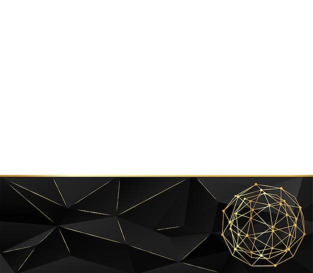 Le modèle pour la conception de la page. arrière-plan dans un style géométrique de triangles. fond de concept créatif. papier à en-tête et brochure de style design polygonal pour les entreprises. illustration vectorielle.