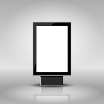Modèle pour la publicité et l'identité d'entreprise