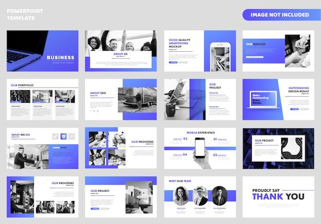 Modèle de présentation business powerpoint