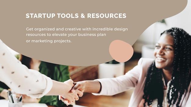 Modèle de présentation de démarrage pour petite entreprise