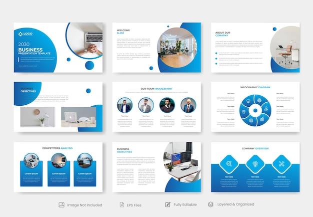 Modèle de présentation d'entreprise minimale