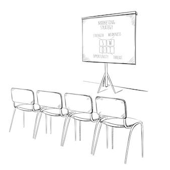 Modèle de présentation marketing d'entreprise