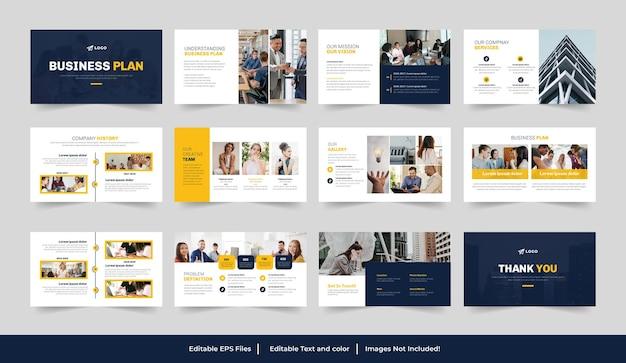 Modèle de présentation de plan d'affaires