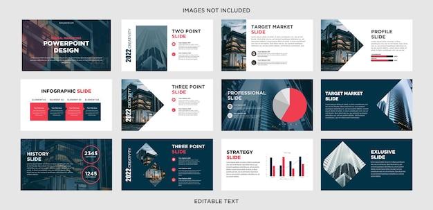 Modèle de présentation polyvalent pour les entreprises