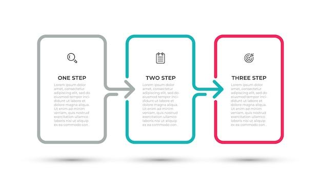 Modèle de processus métier infographique