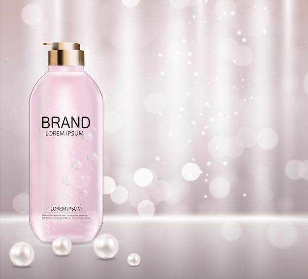 Modèle de produit cosmétique