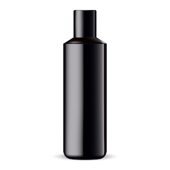 Modèle de produit de shampooing ou de gel douche isolé