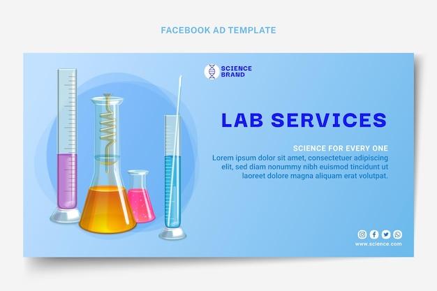 Modèle de publication facebook scientifique réaliste