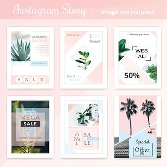Modèle de publication de média social minimal
