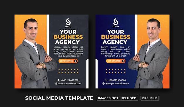 Modèle de publication sur les réseaux sociaux d'entreprise