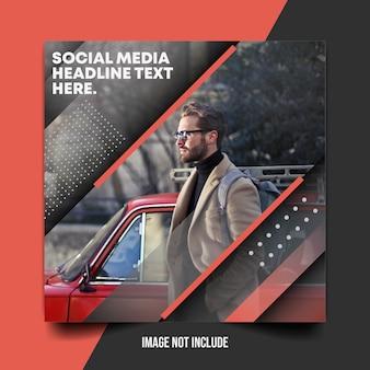 Modèle de publication sur les réseaux sociaux