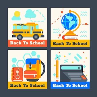 Modèle de publication de retour à l'école