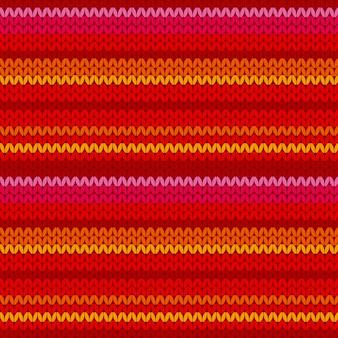 Modèle de pull avec rayure