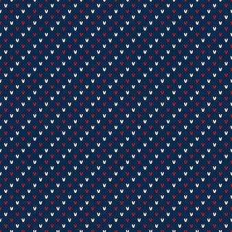 Modèle de pull tricoté à rayures abstraites