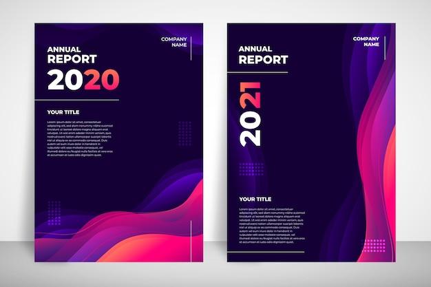 Modèle de rapport annuel abstrait