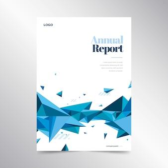 Modèle de rapport annuel coloré