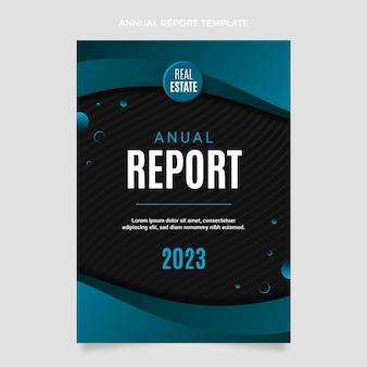 Modèle de rapport annuel sur l'immobilier dégradé