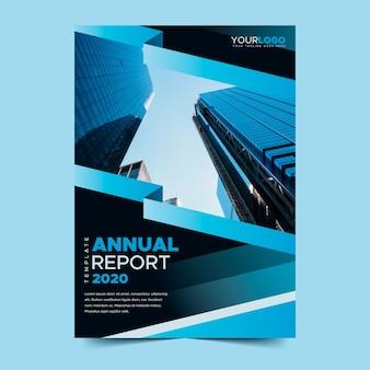 Modèle de rapport annuel avec photo