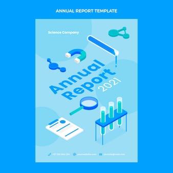 Modèle de rapport annuel de science isométrique
