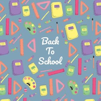 Modèle de retour à l'école