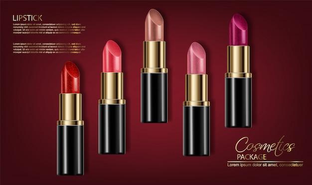 Modèle de rouge à lèvres