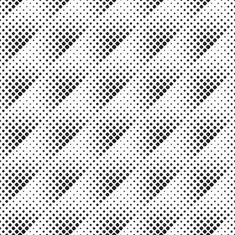 Modèle sans couture abstrait carré noir et blanc