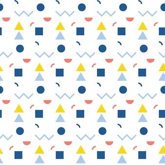 Modèle sans couture abstrait. formes géométriques pour carte de design, menu de café, papier peint, album cadeau, papier d'emballage de vacances, couche pour bébé, impression de sac, t-shirt, publicité d'atelier, etc.